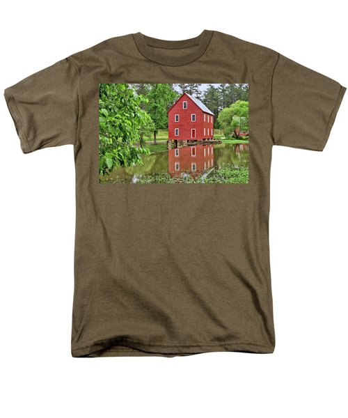 Reflections Of A Retired Grist Mill Men's T-Shirt  (Regular Fit) by Gordon Elwell