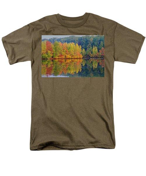 Reflections Of Fall Men's T-Shirt  (Regular Fit) by Roger Becker
