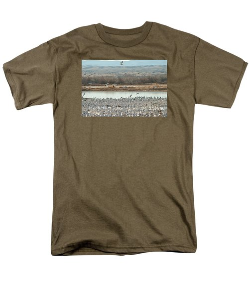 Refuge View 2 Men's T-Shirt  (Regular Fit) by James Gay