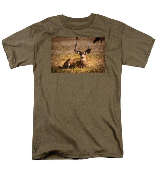 Relaxing Buck Men's T-Shirt  (Regular Fit) by Janis Knight