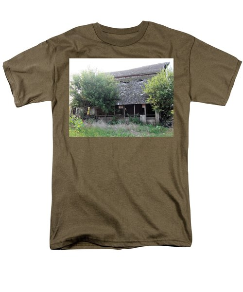 Men's T-Shirt  (Regular Fit) featuring the photograph Retired Barn by Bonfire Photography