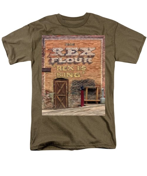 Rex Is King Men's T-Shirt  (Regular Fit) by Michael Pickett