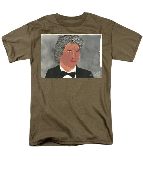 Men's T-Shirt  (Regular Fit) featuring the painting Richard Gere by Tracey Williams