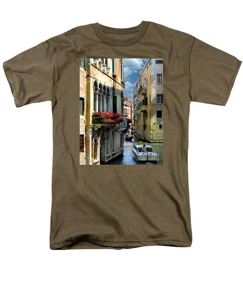 Men's T-Shirt  (Regular Fit) featuring the photograph Rio Menuo O De La Verona. Venice by Jennie Breeze