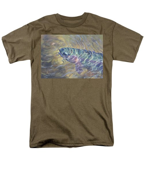 Rainbow Rising Men's T-Shirt  (Regular Fit) by Rob Corsetti