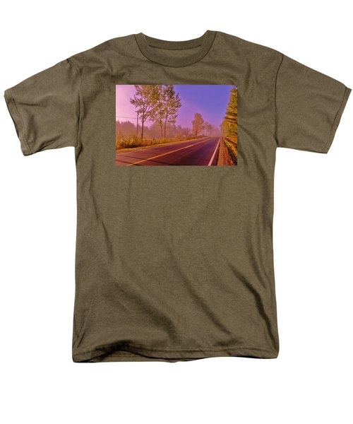 Men's T-Shirt  (Regular Fit) featuring the photograph Road To... by Daniel Thompson
