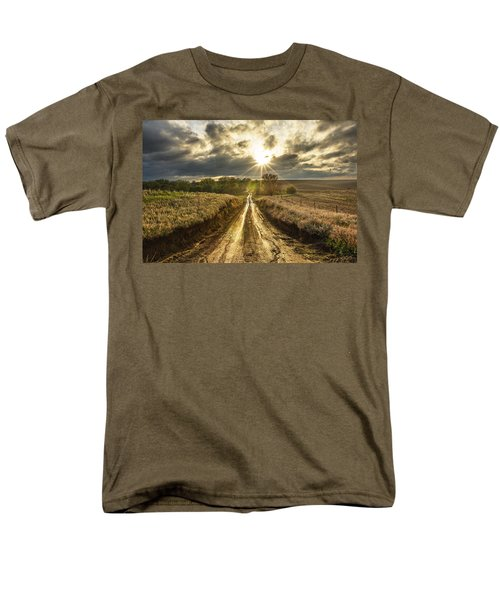 Road To Nowhere Men's T-Shirt  (Regular Fit) by Aaron J Groen
