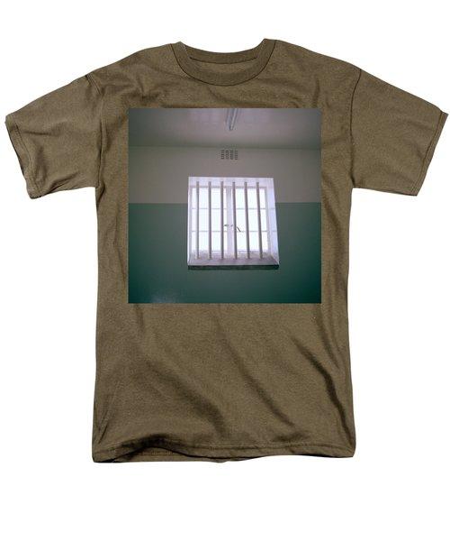 Robben Island Men's T-Shirt  (Regular Fit) by Shaun Higson
