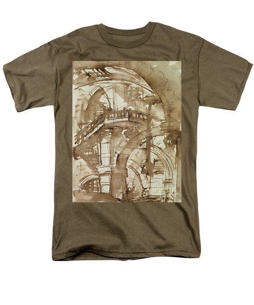 Roman Prison Men's T-Shirt  (Regular Fit) by Giovanni Battista Piranesi