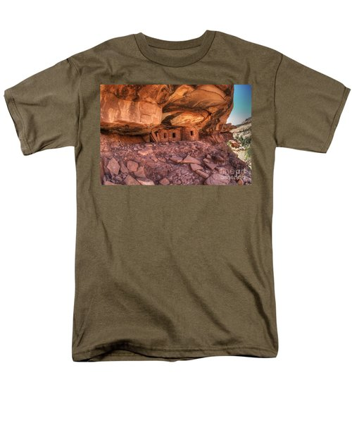 Roof Falling In Ruin 2 Men's T-Shirt  (Regular Fit) by Bob Christopher