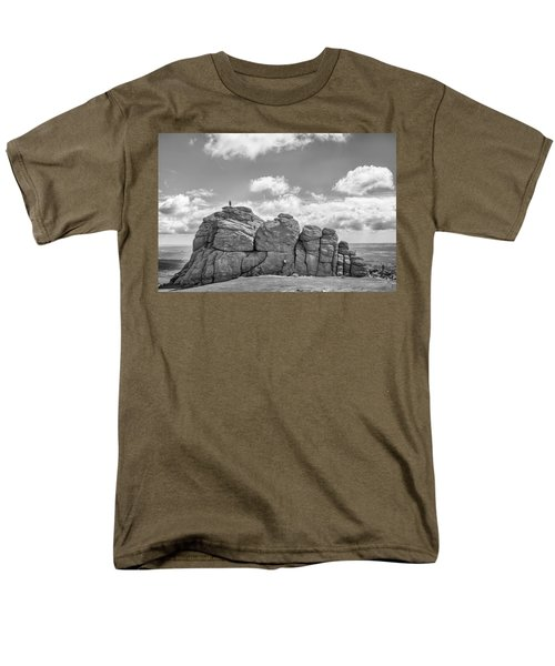 Room On Top Men's T-Shirt  (Regular Fit) by Howard Salmon