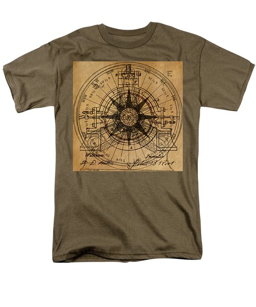Root Patent I Men's T-Shirt  (Regular Fit) by James Christopher Hill