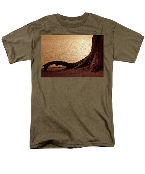 Men's T-Shirt  (Regular Fit) featuring the photograph Roots by Mim White