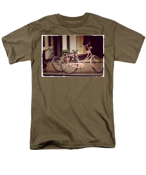 Rose Bike Men's T-Shirt  (Regular Fit) by Mary-Lee Sanders