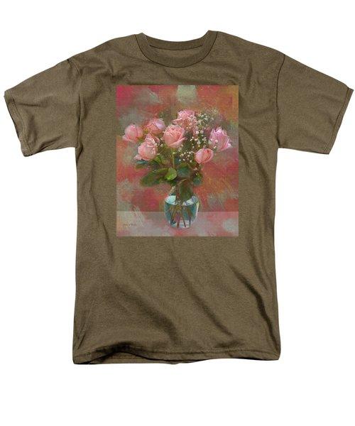 Rose Bouquet Men's T-Shirt  (Regular Fit) by Sandi OReilly