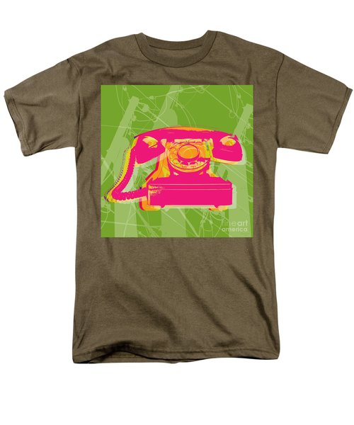 Rotary Phone Men's T-Shirt  (Regular Fit) by Jean luc Comperat
