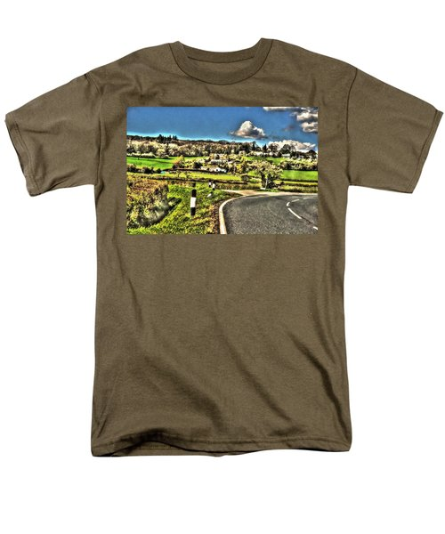Men's T-Shirt  (Regular Fit) featuring the photograph Round The Bend by Doc Braham