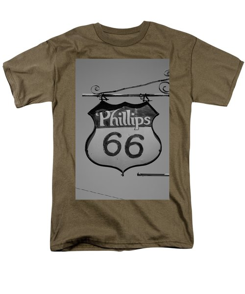 Route 66 - Phillips 66 Petroleum Men's T-Shirt  (Regular Fit)