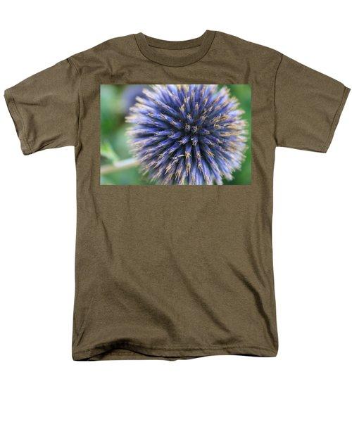 Royal Purple Scottish Thistle Men's T-Shirt  (Regular Fit) by Peta Thames