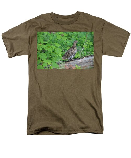 Men's T-Shirt  (Regular Fit) featuring the photograph Ruffed Grouse by James Petersen