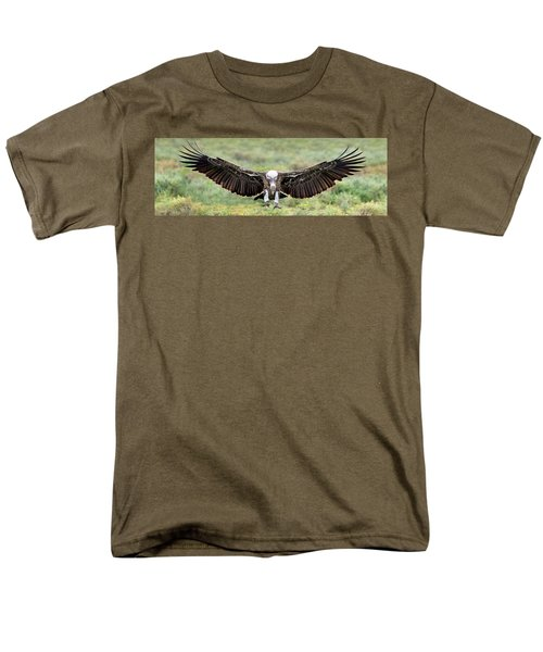 Ruppells Griffon Vulture Gyps Men's T-Shirt  (Regular Fit) by Panoramic Images