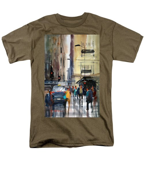 Rush Hour 2 - Chicago Men's T-Shirt  (Regular Fit) by Ryan Radke