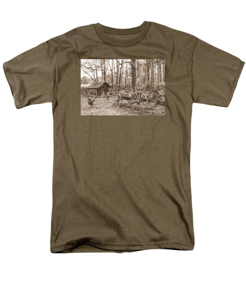 Rustic Wagon Men's T-Shirt  (Regular Fit) by Debbie Green