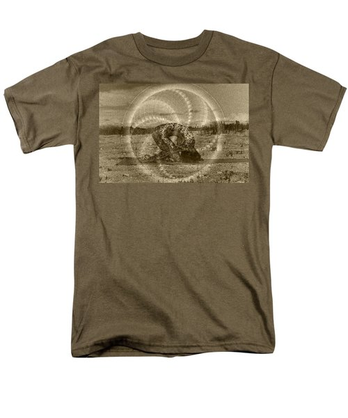 Sacred Rabbit Men's T-Shirt  (Regular Fit) by Deprise Brescia