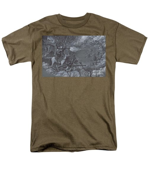 Saddle Sniper Men's T-Shirt  (Regular Fit) by Scott and Dixie Wiley