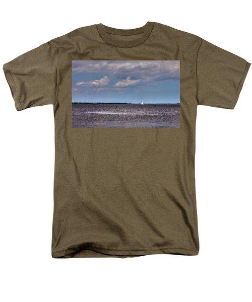 Men's T-Shirt  (Regular Fit) featuring the photograph Sailing by Sennie Pierson