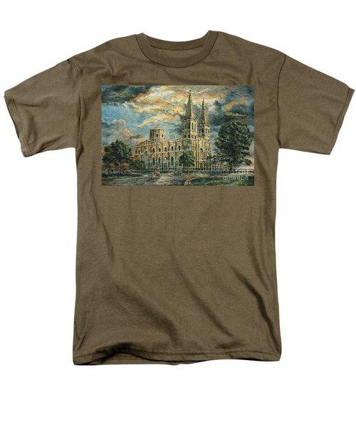 San Sebastian Church 1800s Men's T-Shirt  (Regular Fit)