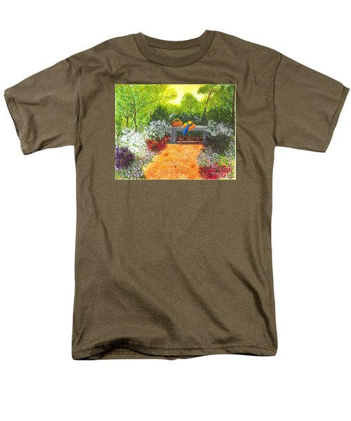 Sanctuary Men's T-Shirt  (Regular Fit) by Patricia Griffin Brett