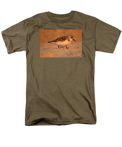 Men's T-Shirt  (Regular Fit) featuring the photograph Sanderling Sunrise by John F Tsumas