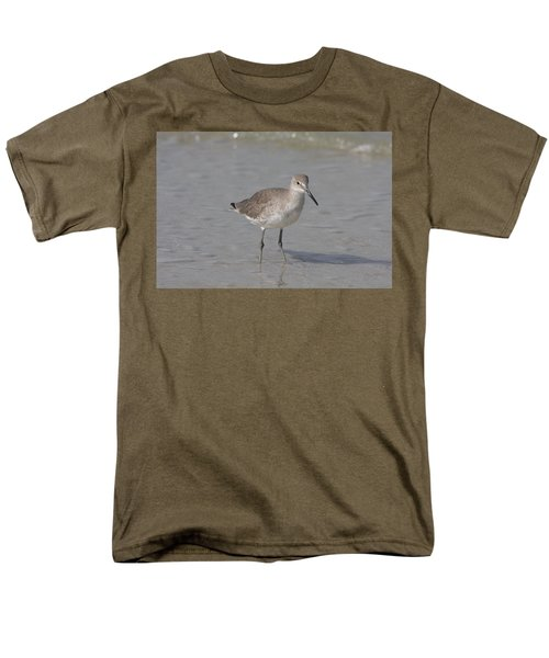 Sandpiper Men's T-Shirt  (Regular Fit) by Christiane Schulze Art And Photography
