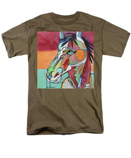 Men's T-Shirt  (Regular Fit) featuring the painting Savannah  by Nicole Gaitan