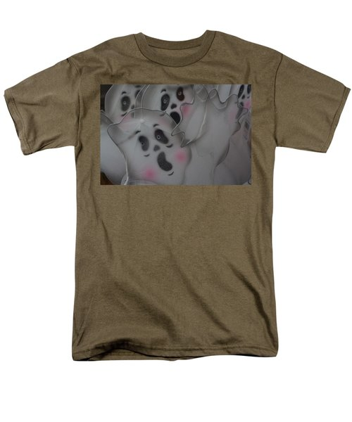 Scary Ghosts Men's T-Shirt  (Regular Fit)