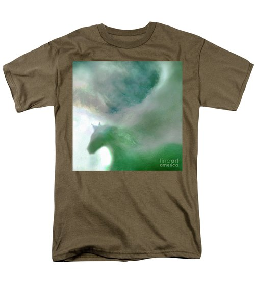 Men's T-Shirt  (Regular Fit) featuring the photograph Sea Glass Storm by Michael Rock