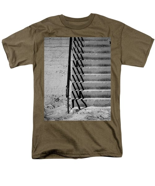 Sea Wall Steps Men's T-Shirt  (Regular Fit) by Perry Webster