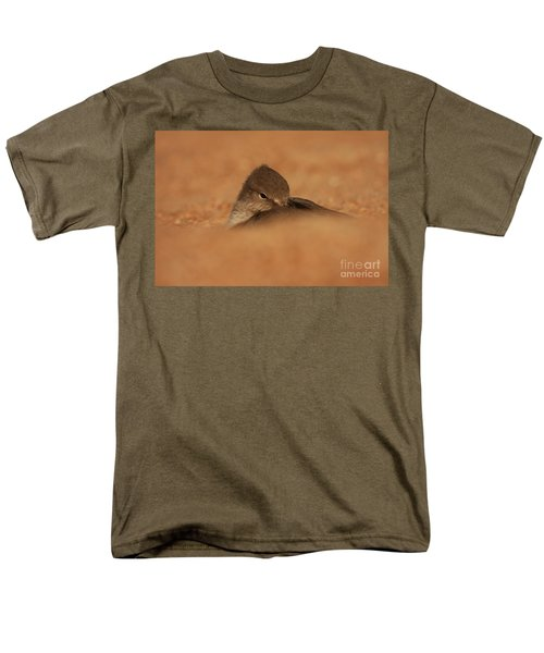 Men's T-Shirt  (Regular Fit) featuring the photograph Seashell Solitude by John F Tsumas