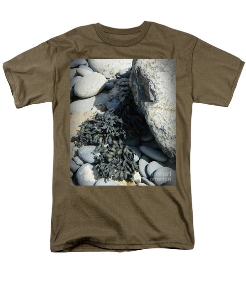 Seaweed And Rocks  Men's T-Shirt  (Regular Fit) by Chalet Roome-Rigdon