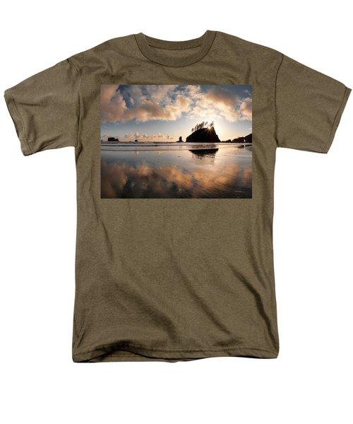 Second Beach Men's T-Shirt  (Regular Fit) by Leland D Howard