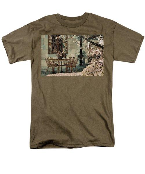 Men's T-Shirt  (Regular Fit) featuring the photograph Secret Garden by Lauren Radke
