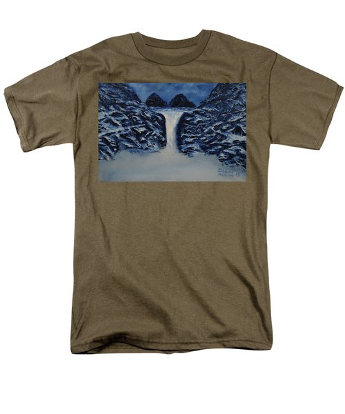 Men's T-Shirt  (Regular Fit) featuring the painting Secret Places by Shawn Marlow