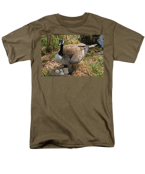 Men's T-Shirt  (Regular Fit) featuring the photograph See My Eggs by Elizabeth Winter