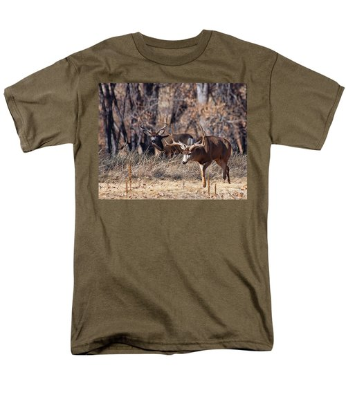 Men's T-Shirt  (Regular Fit) featuring the photograph Seeing Double by Jim Garrison