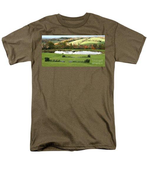 Serenity Hill Men's T-Shirt  (Regular Fit) by Carol Lynn Coronios