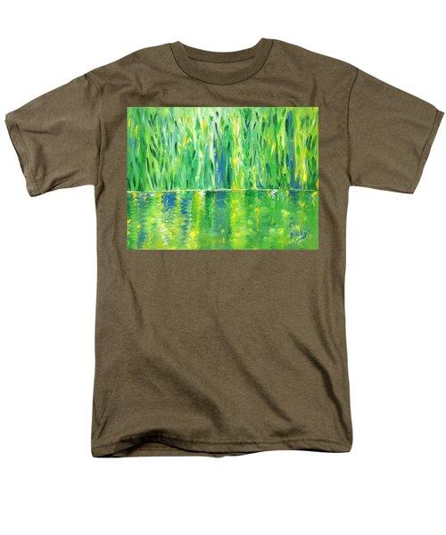 Serenity In Green Men's T-Shirt  (Regular Fit) by Donna Blackhall