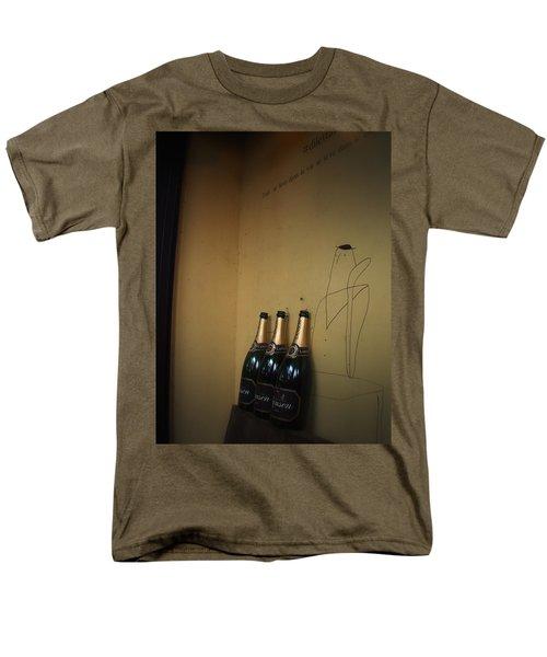Men's T-Shirt  (Regular Fit) featuring the photograph Shadows by Rachel Mirror