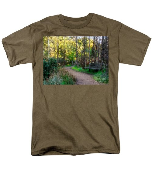 Men's T-Shirt  (Regular Fit) featuring the photograph Shady Dell by Kate Brown