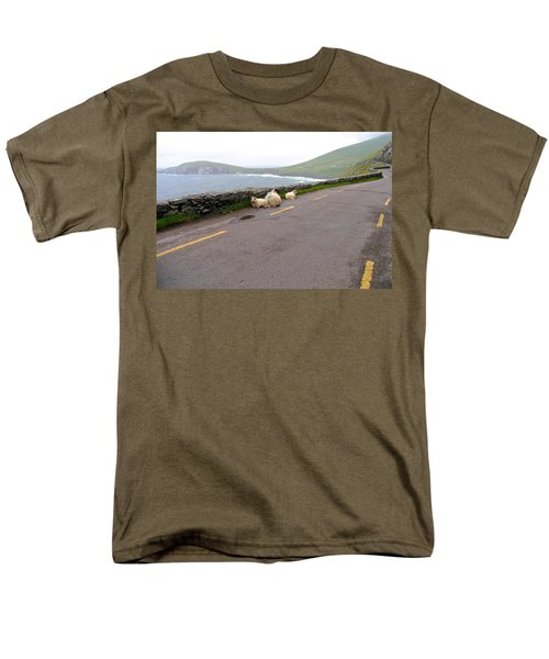 Men's T-Shirt  (Regular Fit) featuring the photograph Shelter by Suzanne Oesterling